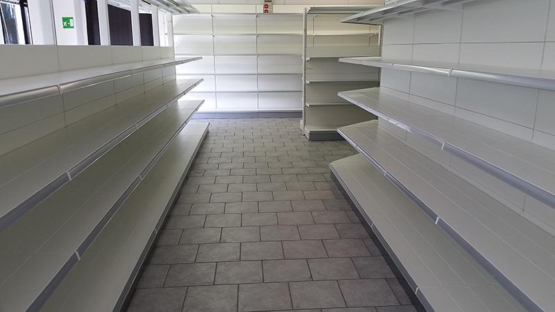 Scaffalatura per negozio arredamenti per negozi nuovi e usati